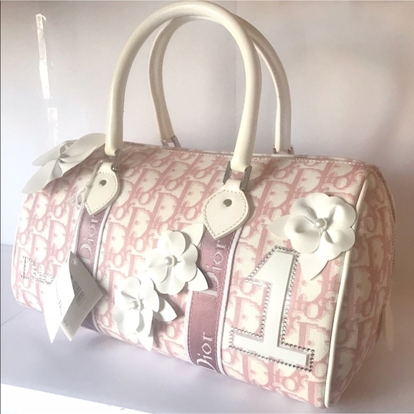769be4149f59 CHRISTIAN DIOR Boston Girly Bag Vintage NWT!